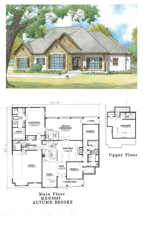 Autumn Brooke House Plan