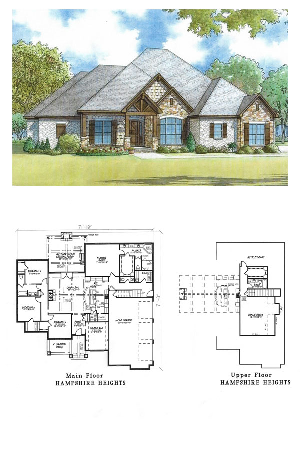 Hampshire Heights House Plan