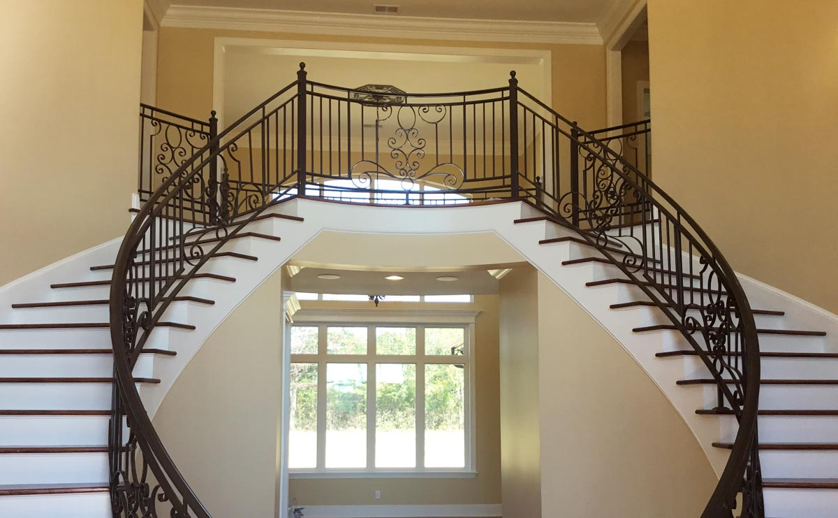 Home Double Staircase Design