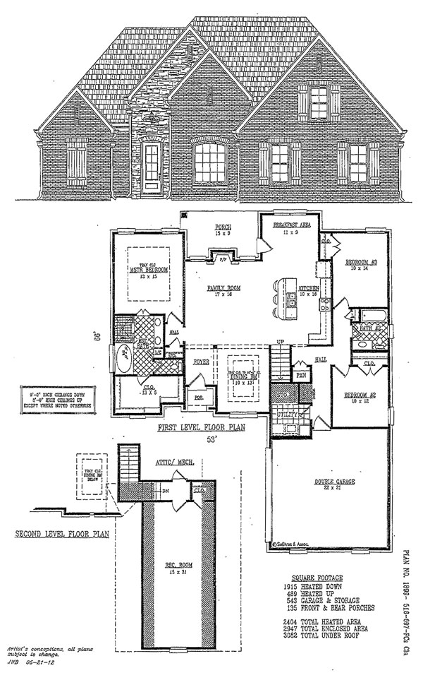 Custom house plans dream home construction olive branch ms for Custom dream house floor plans
