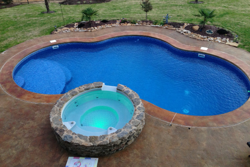 Custom pools dream home construction for Pool design questions