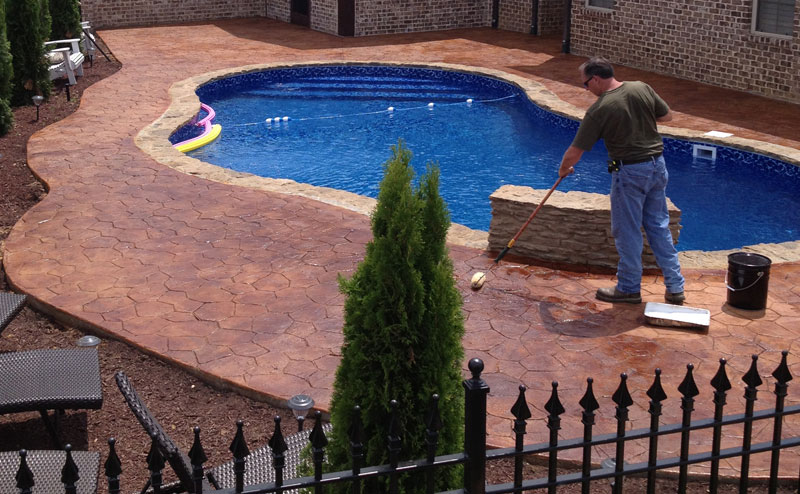 Pool Natural Stone Design