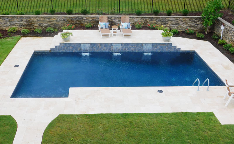 Rectangle Squared Pool Design