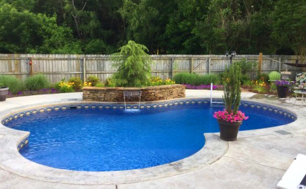 Rounded Pool Design